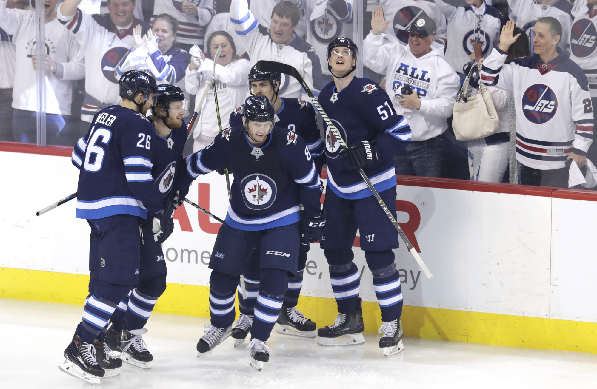 JNGD.R1G5 Recap: Jets Smoke Wild 5-0; Move On To Round Two!