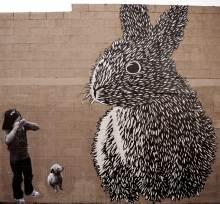 girl-+-big-bunny