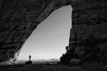 nick-at-white-mesa-arch