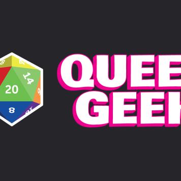 Queer Geek Logotype and Branding