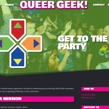 Queer Geek Website
