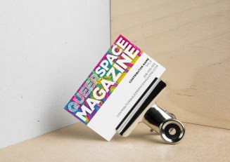 Queerspace Magazine Business Card