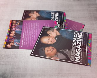 Queerspace Magazine Postcard