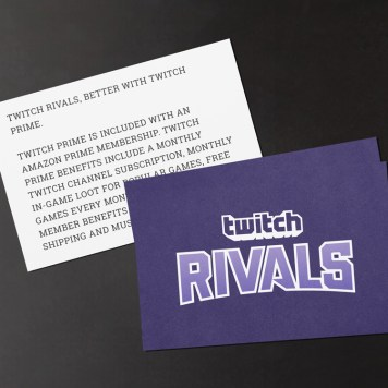 TwitchCon Europe Branded Notecard