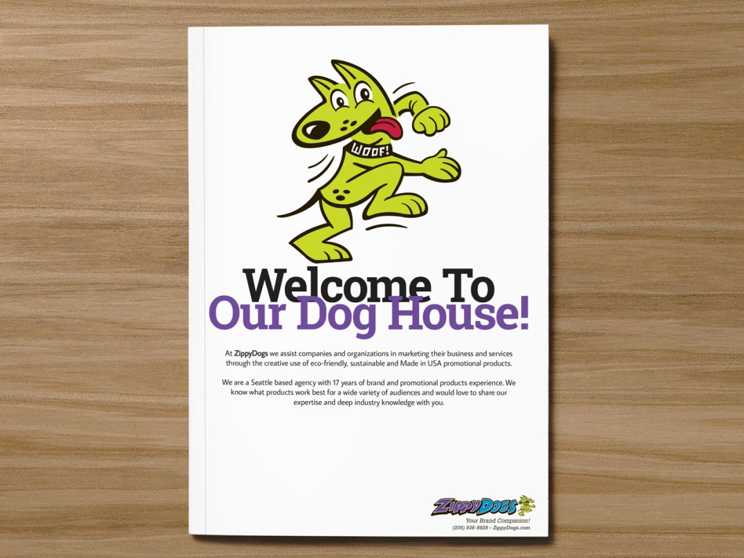 ZippyDogs Booklet Cover