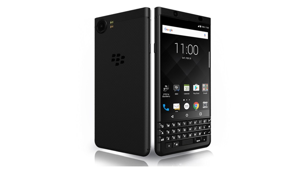 「BlackBerry KEYone BLACK EDITION」が国内発売