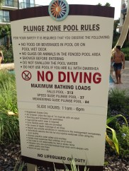 Do not use pool if you are ill:)