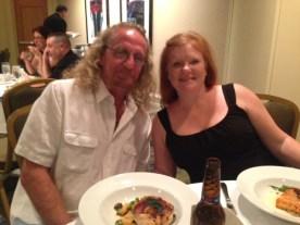 Tony Miller and Georgianne Graves