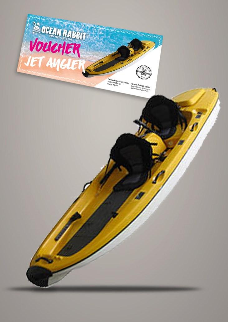 Jet Kayak Angler Jet Surf Canary