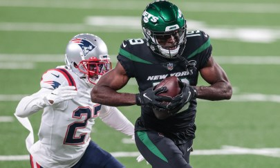 Breshad Perriman is Jets Wire's Week 9 Player of the game vs. Patriots