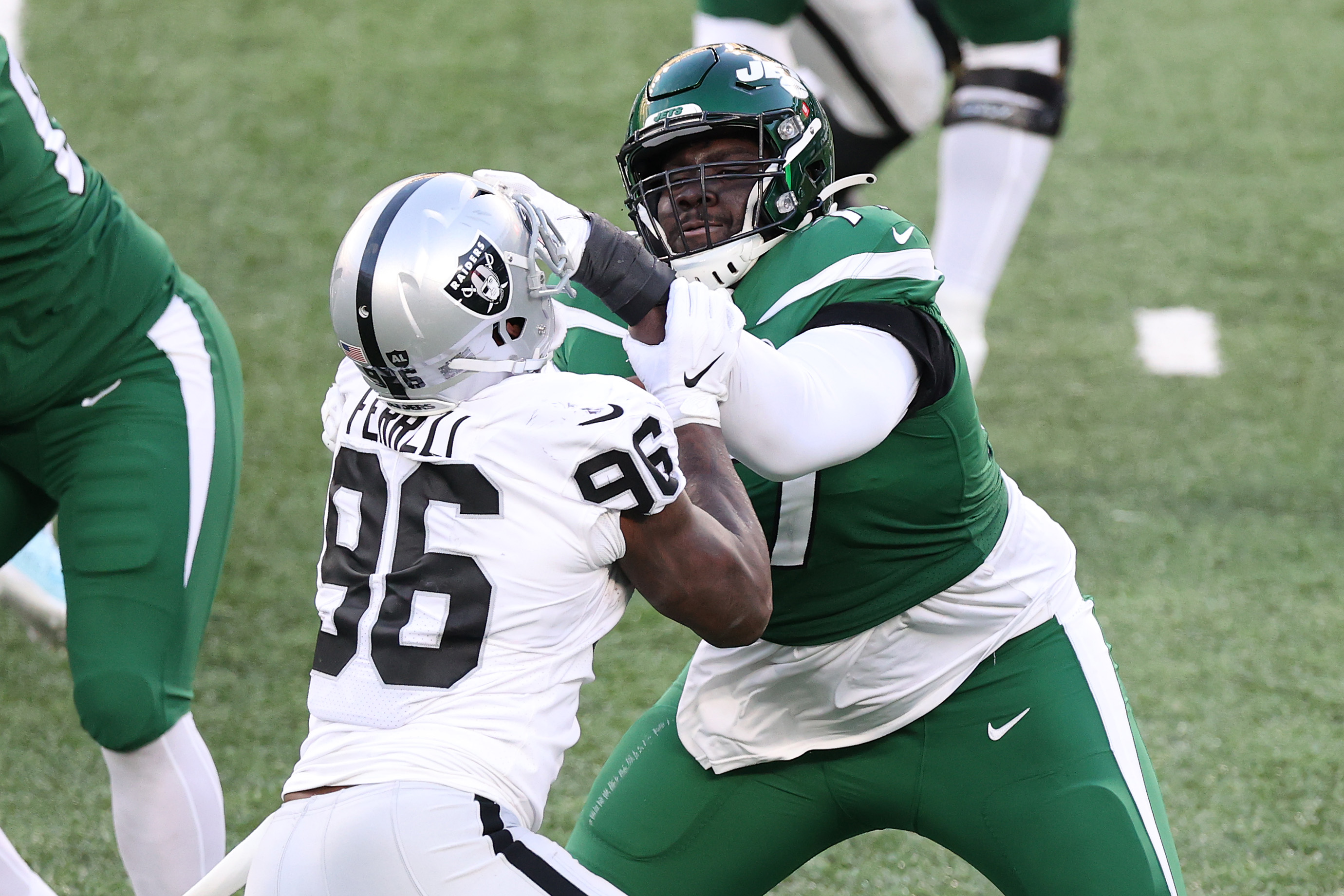 Nick Mangold wants to see Mekhi Becton build on strong rookie year