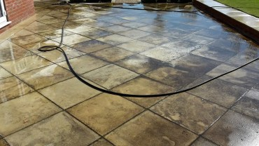Patio Cleaning & Sanstone Cleaning