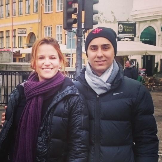 Samy och Bruno i Nyhavn