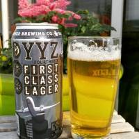 YYZ First Class Lager by #barnstormerbrewing