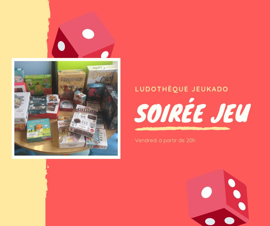 Read more about the article Soirée jeux spéciale «Retour du salon de Kaysersberg»