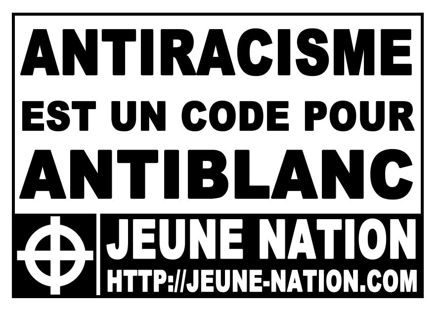 """Résultat de recherche d'images pour """"racisme anti blanc"""""""