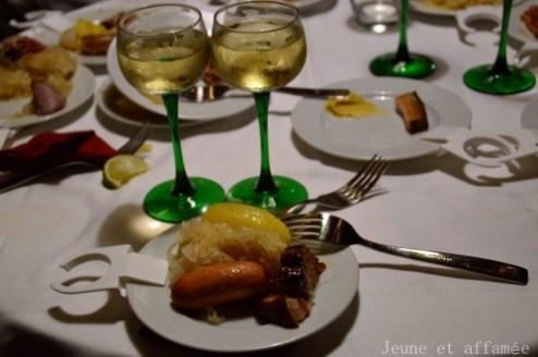 Bofinger, choucroute et vin blanc