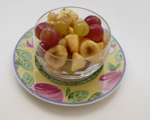 salade de fruits d'automne