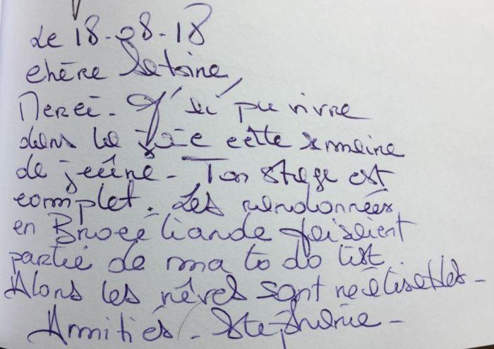 Commentaire de Stéphanie
