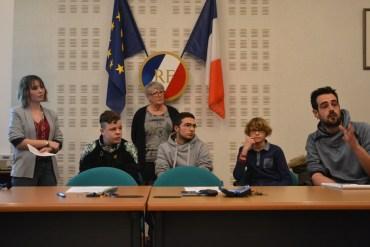 3 jeunes ont participé au Conseil Municipal de Truyes le mardi 7 février 2017