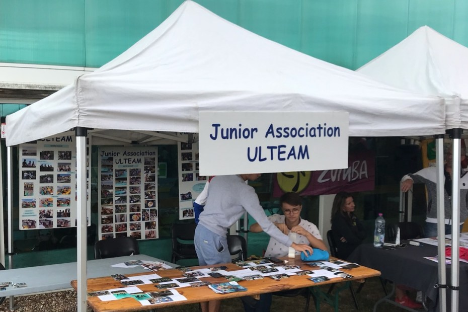 JA Ulteam au forum des associations de Monts