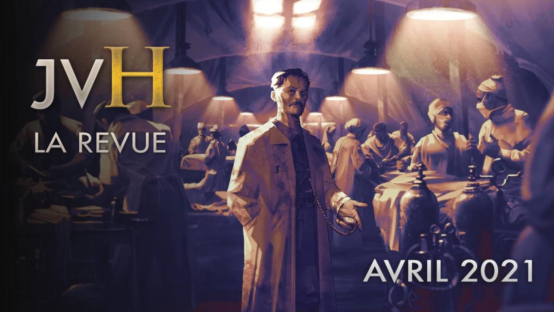JVH La Revue – Actualités des jeux vidéo historiques (Avril 2021)