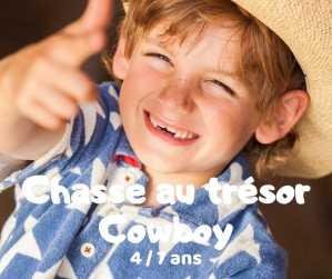 chasse au trésor cowboy à télécharger