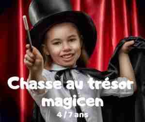 chasse au trésor magicien à télécharger