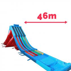 tapis glisse aquatique gonflable