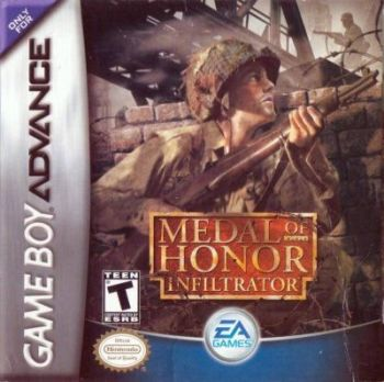 Medal of honor infiltrator GBA