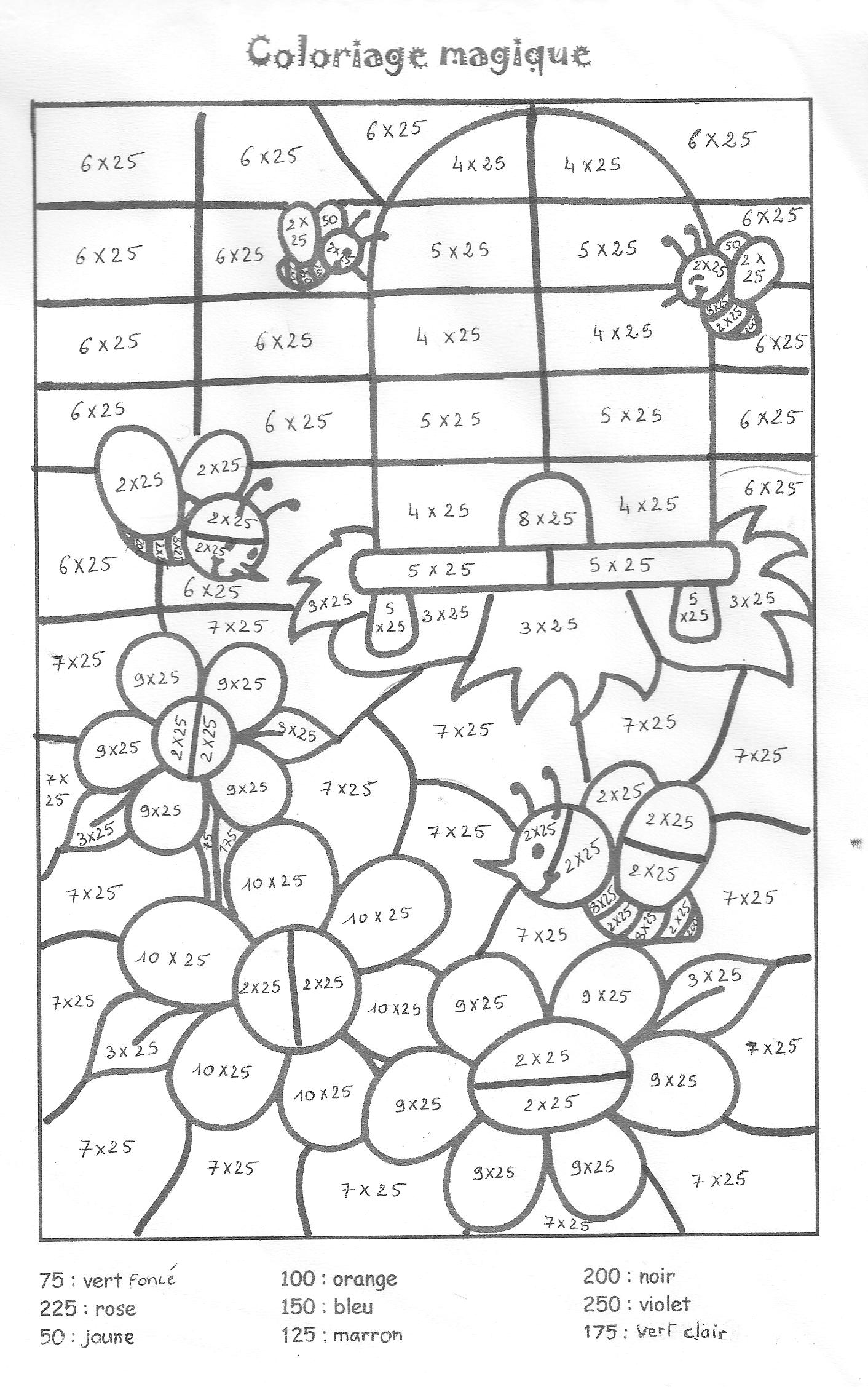 Search Results For Times Tables Colouring Sheets Free
