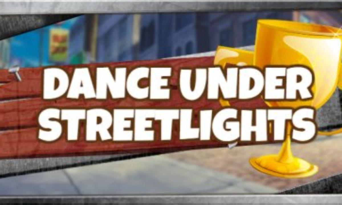 fortnite dance under spotlights