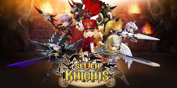 Seven Knights Triche Astuce Rubis,Or,Clés Illimitée