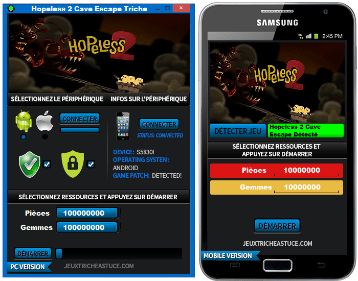 Hopeless 2 Cave Escape Triche,Hopeless 2 Cave Escape astuce,Hopeless 2 Cave Escape Triche triche outil