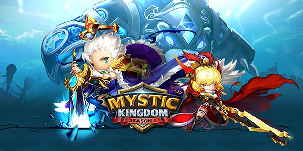 Mystic Kingdom Triche Astuce Or,Diamants,Stamina