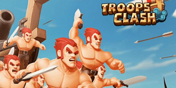 Troops Clash Battle of War Triche Astuce Diamants,Or,Bois