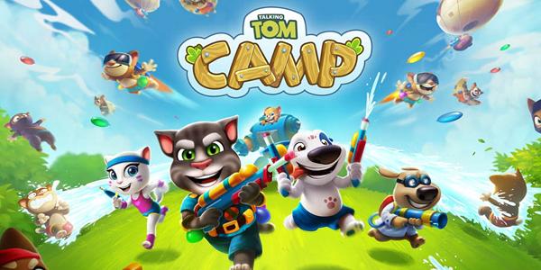 Talking Tom Camp Triche Astuce Gemmes et Pièces Illimite