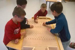 Fabrication de jeux en bois ALSH Morbihan Bretagne