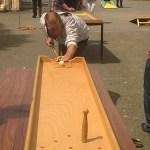 Animation jeux en bois jeux de société ESAT Morbihan Bretagne