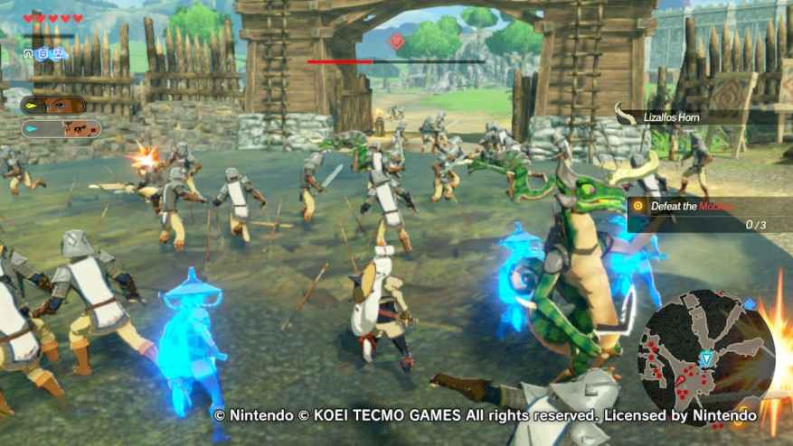 Critique Hyrule Warriors Age Of Calamity Archyde