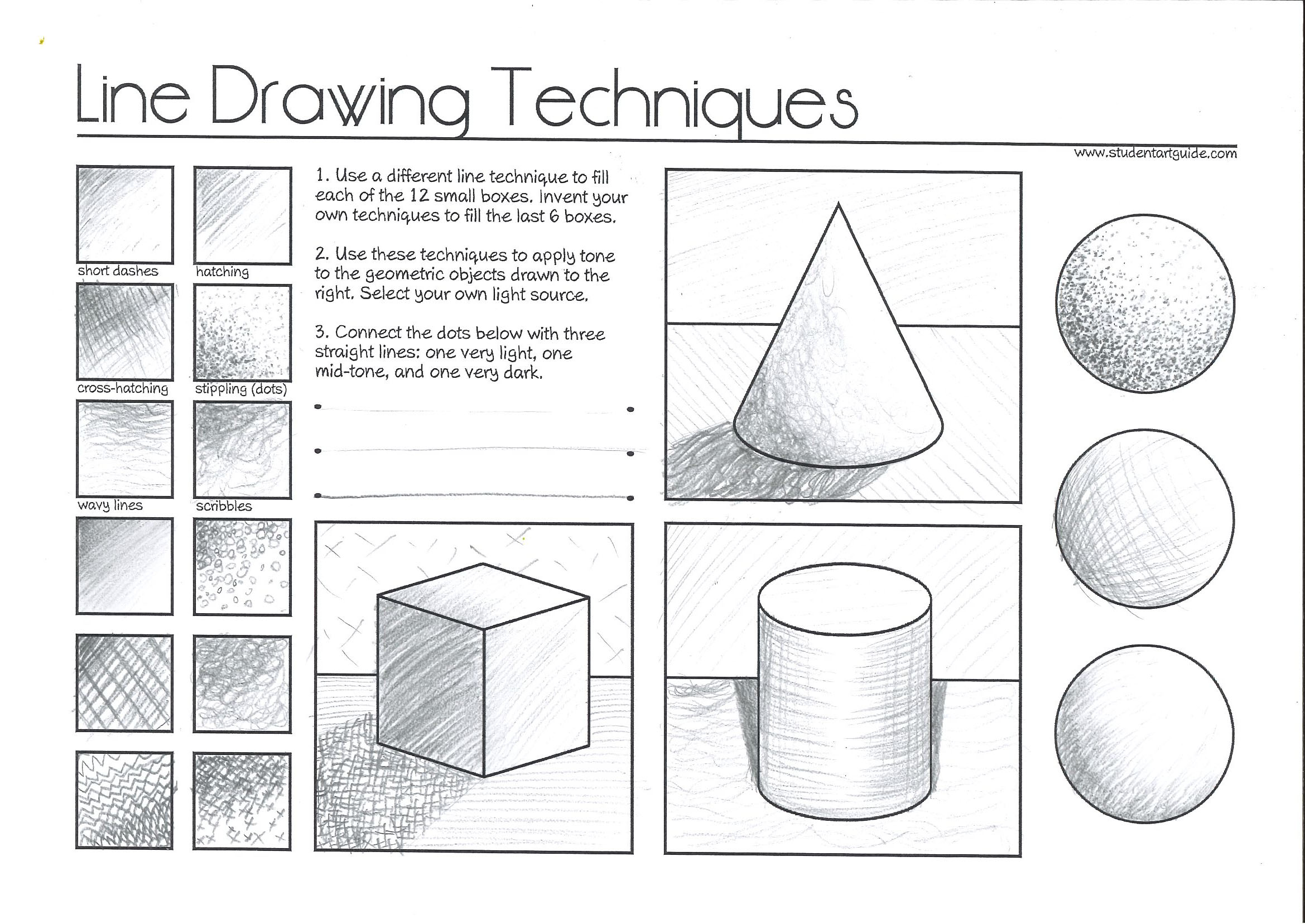 Line Drawing Techniques Jevans Game Design