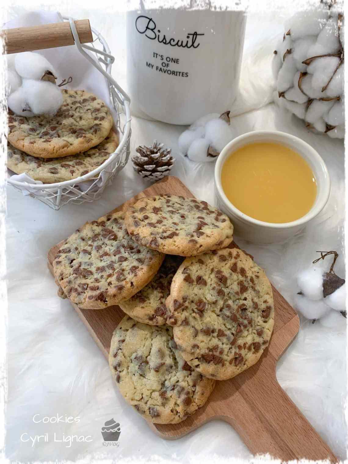 Cyril Lignac Recette Cookies : cyril, lignac, recette, cookies, Cookies, Cyril, Lignac, Gourmandises