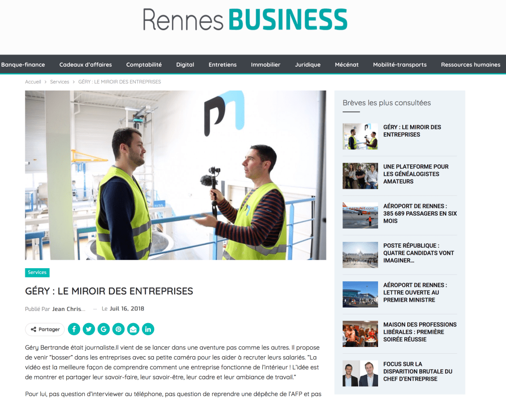 Rennes Business Magazine
