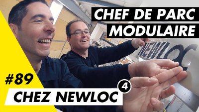 Je deviens technicien chef de parc modulaire chez Newloc avec Anthony