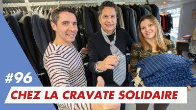Bonne rentrée solidaire chez La Cravate Solidaire en marinière Saint-James