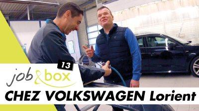 Je découvre le métier de carrossier-peintre dans une concession Volkswagen