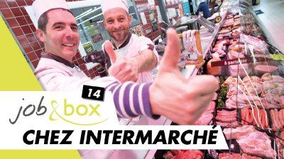Viens tailler la bavette avec moi, boucher en supermarché chez Intermarché !