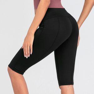 Women Thin Fitness Short Pants Casual Ladies Slim Pants