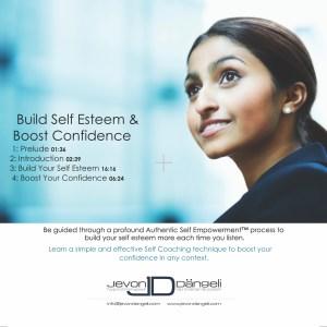 Boost Esteem & Self Confidence