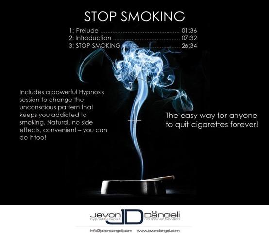 Stop Smoking hypnotherapy audio program